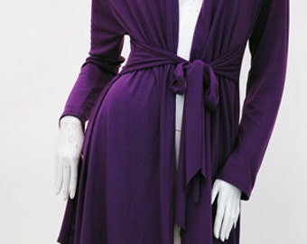The Tara Purple Cardigan