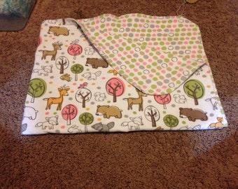 Baby forest blanket