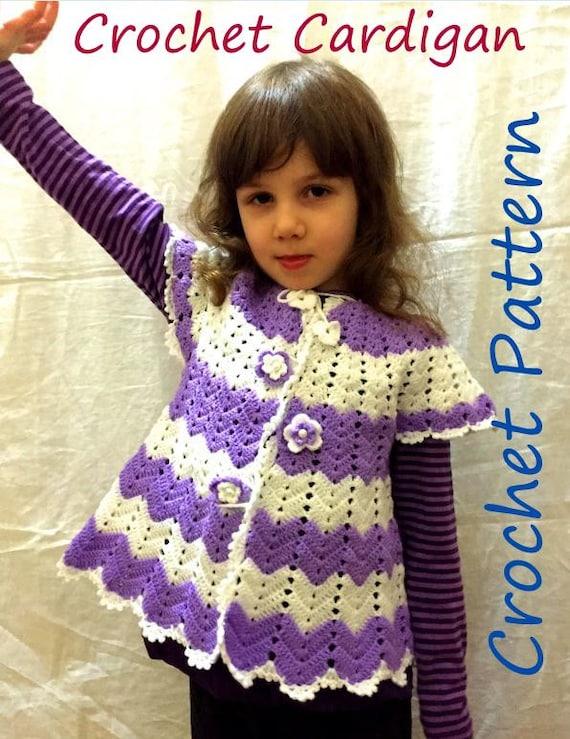 Crochet Sweater Patterns For Girls www.pixshark.com ...