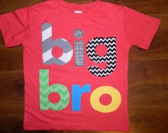 Big Brother Shirt, Big Bro Shirt, Big Brother T-Shirt