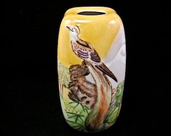 Hutschenreuther Hand Painted Vase