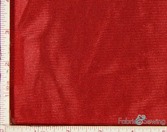"""Red Tricot Dazzle Mesh Fabric Polyester 7 Oz 58-60"""""""