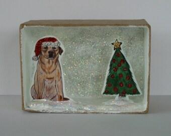 Christmas Labrador Gift Box