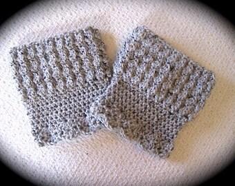 Boot Cuff Pattern, Crochet Pattern, Reversible Boot Cuffs, for women