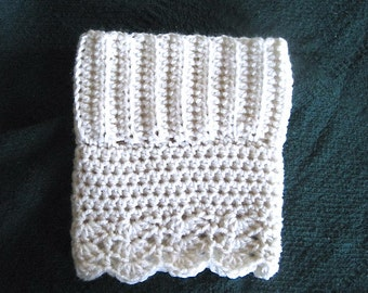 Boot Cuff PATTERN, Crochet boot Cuff, ribb Pattern, Reversible Boot Cuffs for women