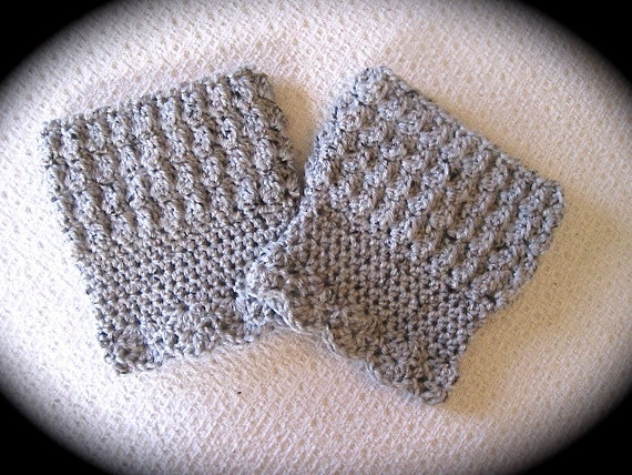 Crochet Boot Cuff Easy Pattern : Boot Cuff Pattern Crochet Pattern by SerendiptyCrochet207 ...