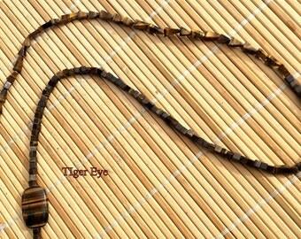 Tiger Eye Chain  Eyeglass Holders