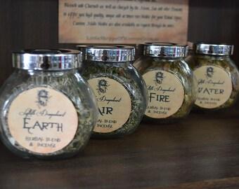 FIRE - Incense Blend, herbs, resins & oils 1g