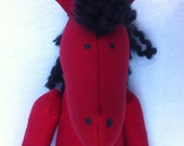 """WHOA NELLIE Soft Horse Doll - """"Billy"""""""