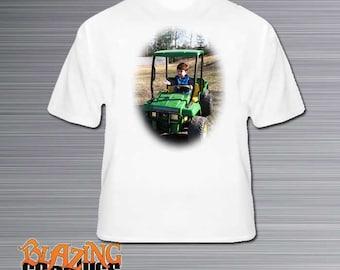Personalized Photo Tee Shirt, Photo T-Shirt