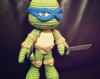 TMNT Amigurumi (Crochet Pattern)