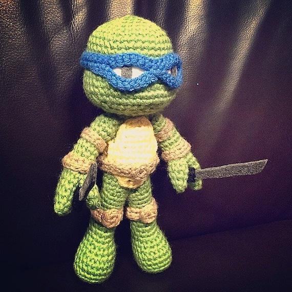 TMNT Amigurumi Crochet Pattern