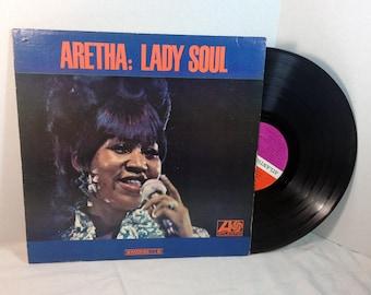 Aretha Franklin Quot Lady Soul Quot 1968 Vinyl 12 Quot Record Soul