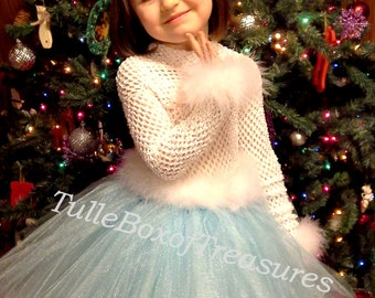 Holiday Blues Party Dress