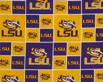 LSU Team Lanyard