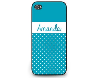 Personalized iPhone 5 case - cell phone case iphone 5 - Teal iPhone 5 Cell Phone Case - Personaliezd iPhone 5 Case