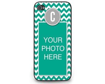 Monogram Photo iPhone 5c Case - Monogram iPhone 5c Case - Chevron Custom iPhone 5c Case - Circle Monogram iPhone 5c Case
