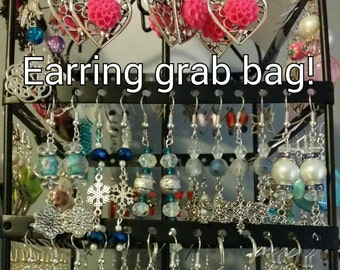 Clearance - 50% off! - Earring mystery grab bag (3 pairs)