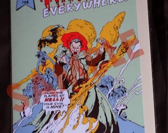 "Rare Lost Boys Prop ""Vampires Everywhere"" Comic Replica - with inner artwork"