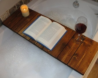 Slatted Wooden Bath Tray - 3 different sizes, same price