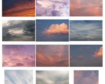 Sunset Skies Overlay Set