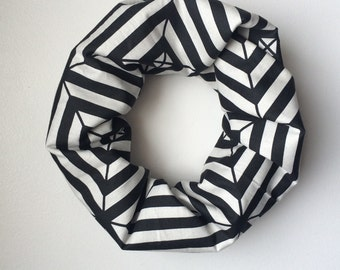 Baby / Toddler Infinity Scarf - Squares in Squares