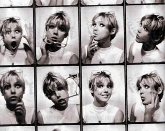 COOL RARE Edie Sedgwick x Andy Warhol - Photo Picture Art Print