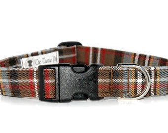 Scott (weathered) Tartan Dog Collar