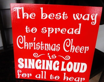 Funny Christmas Sign Etsy