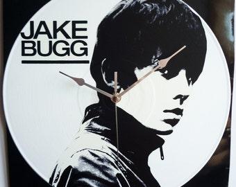 Jake Bugg - 12″ Vinyl Record Wall Clock