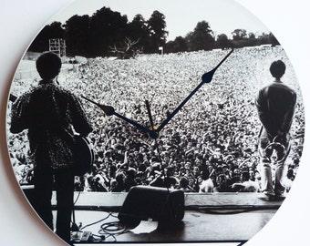 Oasis - Slane Castle - 22.07.1995 - 12″ Vinyl Record Wall Clock