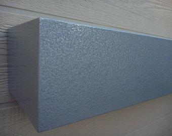 Stainless Steel Look Shelves.Floating Shelves.Mantle.Floating Shelf.Shelves.Wood Shelves.Modern Shelves.Mantel Shelf.Shelveng.Wood Shelf.