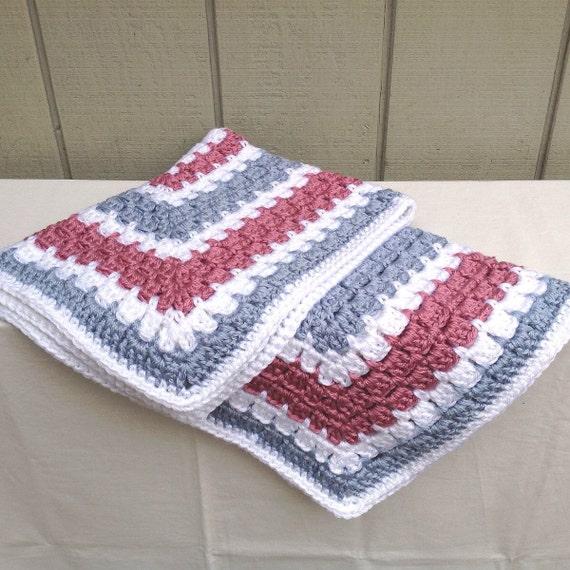 baby crochet blanket stroller blanket car seat baby afghan. Black Bedroom Furniture Sets. Home Design Ideas