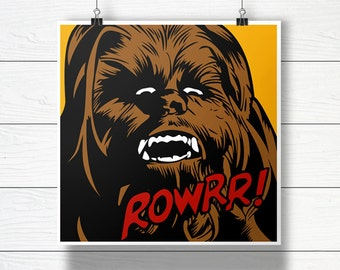 Chewbacca - Star Wars Vector Illustration