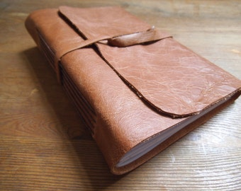 Tan  Leather Journal