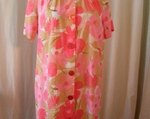 1960s House Robe / Dress