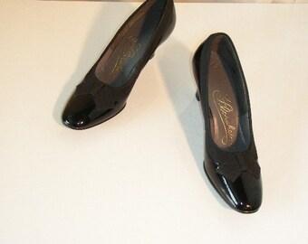 1960's Dead Stock  Black  Shoes