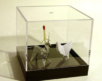 BLADE RUNNER - 1:1 Scale Origami Prop Set (w/ Display Case)