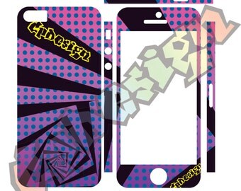 Adhesive skins 5 5s for Iphone