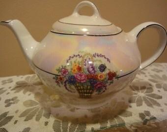 Z.S. and C Bavaria Tea Pot/Beautiful Vintage Collectible Bavaria Tea Pot/Handpainted Tea Pots/Fine Bone China Tea Pots