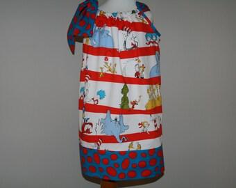 Dr. Seuss Pillowcase Dress