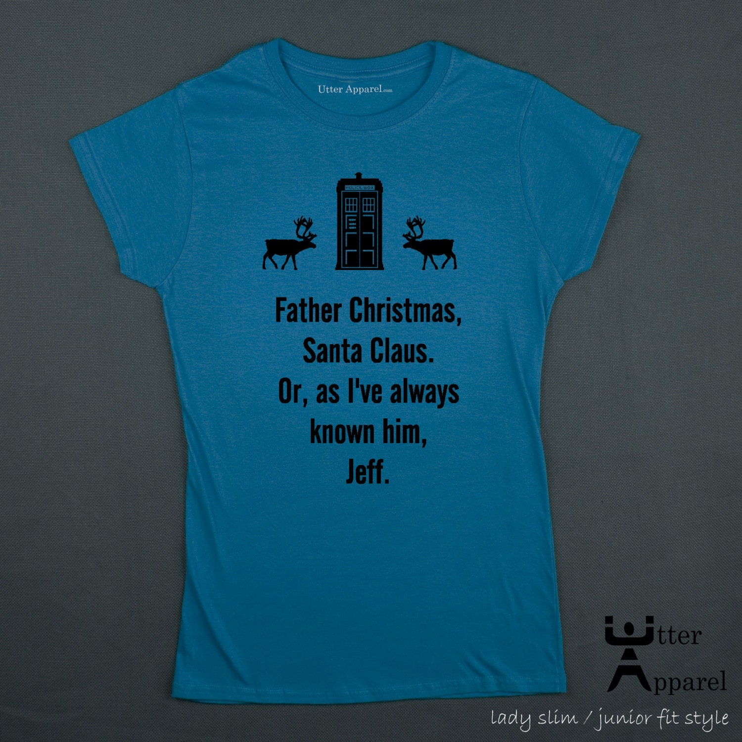 Dr Who Christmas jumper t-shirt. Also an ideal Christmas