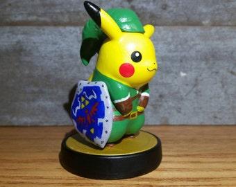 Custom Pikachu Amiibo - Many Styles - Big Sale!