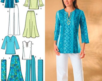 Simplicity Sewing Pattern 4149 Misses' & Plus Size Sportswear