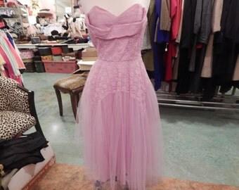 1950 Prom Dress