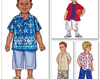 Butterick Pattern B3475 Boy's Shirt & Short