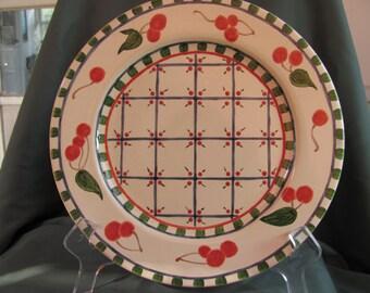 Cherry Pattern Country Platter