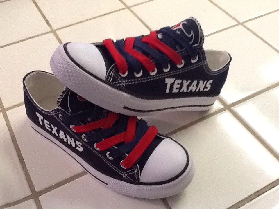 houston texans s tennis shoes read by sportzfanatics