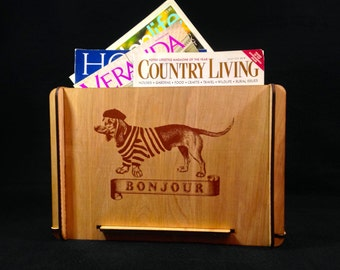 Great Gift!  Magazine Storage Box; Book Storage Box; Periodical Storage Box;