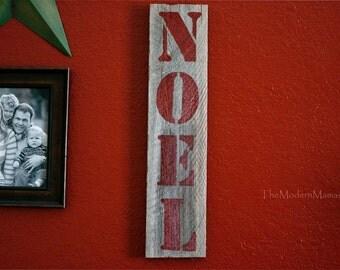 NOEL Welcome sign